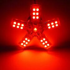 2x RED 1157 BAY15D 41-SMD LED SPIDER LITE BRAKE TURN TAIL CAR LIGHT BULB