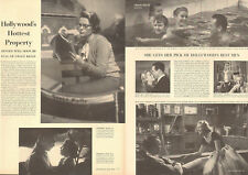 1950s vintage Article GRACE KELLY , Hollywood's Hottest Property Mogambo 072818