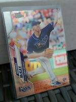 2020 Topps Chrome Base Refractor #8 Brendan McKay RC - Tampa Bay Rays