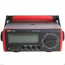 Uni T Ut801 Bench Type Digital Multimeter Thermometer Lcd Display Data Hold K