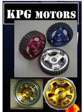 KPG MOTORS POWER CAM GEAR CAM PULLEY FIT NISSAN SKYLINE GTR R32 RB26DETT GOLD