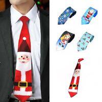 Christmas Neck Tie Printing Neckties Xmas Tie Christmas Cloth v