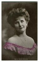 Antique printed postcard Miss Nora Moore actress theatre stage