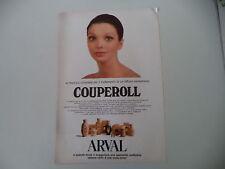 advertising Pubblicità 1973 ARVAL