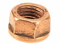 For BMW E10 E28 E36 E90 Set of 20 Copper Lock Nut 10 mm Exhaust Flange OEM