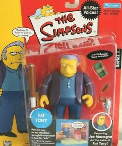 Simpsons Playmates WOS: **FAT TONY** (NIB)  All-Star Voices Series 1