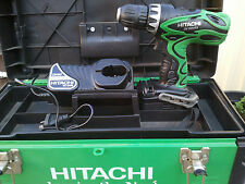 HITACHI KOKI CORDLESS DS14DVF3 DRILL 14.4V JAPAN WITH BATTERY & CHARGER & CASE