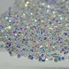 1000Pcs 1.2mm Crystal Pixie 3D Nail art Micro Zircon Mini Rhinestones Clear  DIY