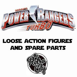 Vtg Power Rangers Turbo Figures Megazords Spare Parts Weapons & Accessories 90s