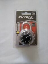 Master Lock Dial Combination Lock 1500D Tough Under Fire!