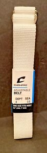 "Champro Adjustable Football Belt 52"" Long 1"" Wide White"