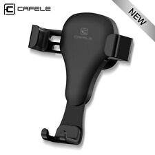 Universal CAFELE Mettalic Car Air Vent Gravity Mount Holder Stand Cradle BLACK