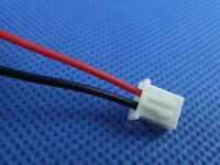 10pcs AWG 24#  XH2.54 2 Pin 20cm Power Wire Cable Connector Male Plug Model
