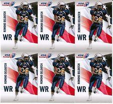 Romond Deloatch 2012 Upper Deck USA Football TEMPLE 25 Card Lot *H794
