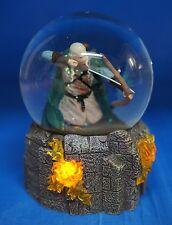Hobbit Lord of the Rings Legolas Battle 100mm Lightup Snowglobe Figurine 25312