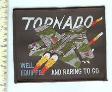 Military Patch British Air Force Tornado