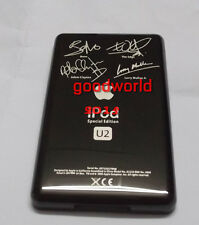 u2 customizing iPod back cover for Video 30GB Classic 80GB 120GB (black)