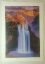 """Natural Beauty""  Signed Limited Edition by Jim Warren Lithograph"