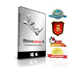 ✔✔Rhinoceros 6☀ for Mac ☀ with LifeTime license✔✔