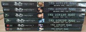 Buffy the Vampire Slayer Season 1 and Season 2 Script Books TPB Paperbacks