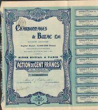 DECO (art nouveau) => Charbonnages de BUZAC (LOT 46) (W)