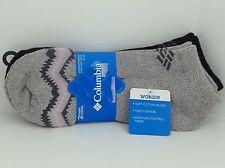 Women's COLUMBIA Brand Low Cut COTTON Socks - 2 Pack - MSRP $20