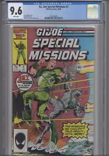 G.I. Joe Special Missions #1 CGC 9.6 1986 Comic:  NEW CGC FRAME