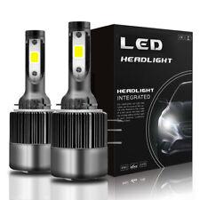 H15 LED Hi-Low Beam Headlight Bulbs DRL White 6000K &For 12-17 Volkswagen Tiguan