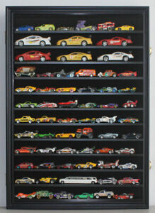 1/64 & 1/43 Scale Hot Wheels Display Case Wall Cabinet