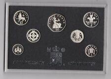 More details for bright 1996 boxed royal mint silver anniversary silver proof seven coin set.