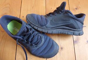 NIKE Free 4.0 V3 Sneaker EUR 41 UK 7 = passt 40,5 dunkelgrau federleichte Schuhe