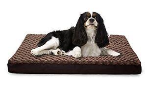 Improvements Dog Bed K9 Orthopedic Mattress Water Resistant Pet Crate , Medium