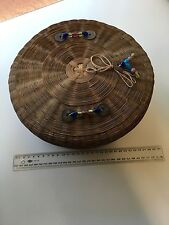 Antique Chinese Basket Beijing Glass beads