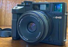 [NEAR MINT] Bronica RF645 Medium Format Camera Zenzanon 65mm F/4 Lens From JAPAN