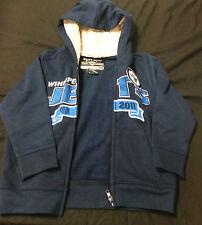 Old Time Hockey, Winnipeg Jets Navy, Inner Fur Hoody Zip-Up Sweatshirt 4T (NEW)