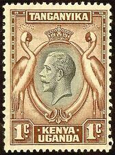 ART PRINT POSTER STAMP TANGANYIKA KENYA UGANDA CRESTED CRANE NOFL1070