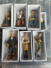 More details for 16mm scale model railway hand painted resin figures x7 suitable for g scale bnib