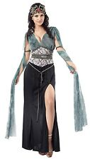 Ladies Sexy Dark Medusa Greek Mythology Goddess Fancy Dress Costume Outfit 10-14