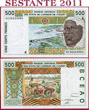(com) WEST AFRICAN STATES K SENEGAL  500 FRANCS 1991 first date - P 710Ka - UNC-