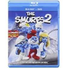 THE SMURFS 2 (Blu-ray/DVD, 2013, 2-Disc Set Includes Digital Copy) New / Sealed