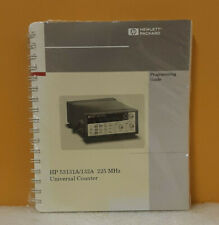 HP 225 MHz Universal Counter Operating Guide 53131a/132a