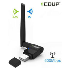 EDUP USB WiFi Adapter 600Mbps 11AC Dual Band 2.4G/5G Wireless Network PC 1635