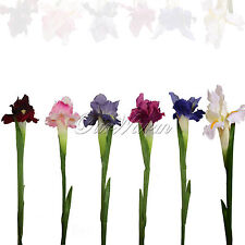 Artificial Silk Flower Real Touch Iris Flower Bridal  Wedding Banquet Home Decor