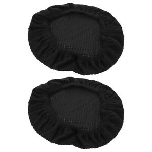 2PCS Fashion Round Stool Cover Household Round Stool Cover Chic Chair Back Cover