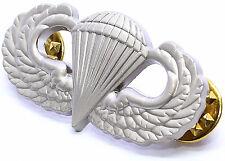 US Armed Forces Airborne Basic Parachutist Badge aka Jump Wings Good Quality