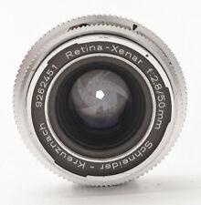Schneider Kreuznach Retina-Xenar Xenar 50mm 50 mm 1:2.8 2.8 - Kodak Retina Refle