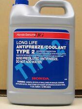 1 Gallon GENUINE HONDA Engine Coolant Antifreeze Fluid Blue Type 2 Premixed new