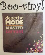 "Depeche Mode amo y sirviente 1984 Reino Unido Press 7"" vinyl record solo EX/EX"