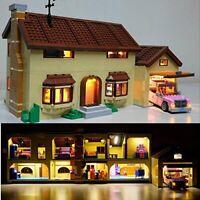 Light Kit for Lego The Simpsons House 71006 usb power