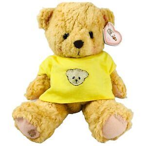 Vintage Cherished Teddies Plush Teddy Bear Stuffed Animal Yellow Shirt